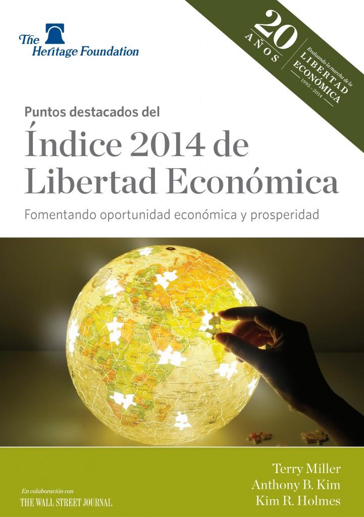 Puntos destacados del Indice 2014 de Libertad Economica